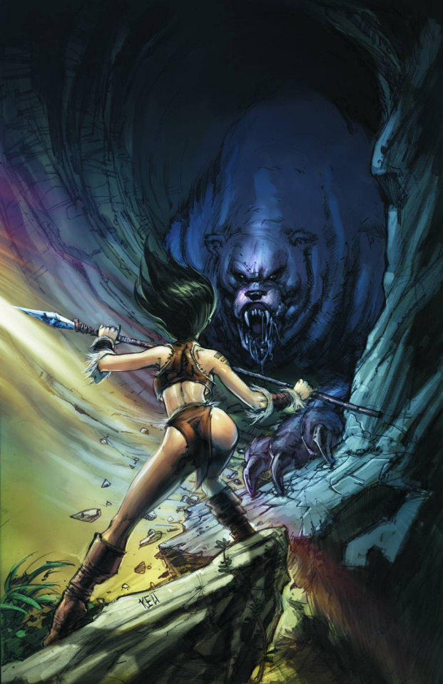 Grimm Fairy Tales: The Jungle Book - Last of the Species #2 (Cha Cover)