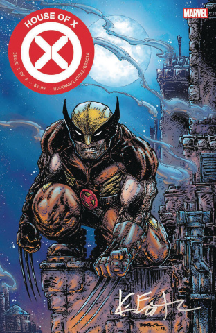 House of X #1 (Eastman Signed Cover)