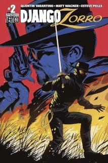 Django / Zorro #2 (Francavilla Cover)