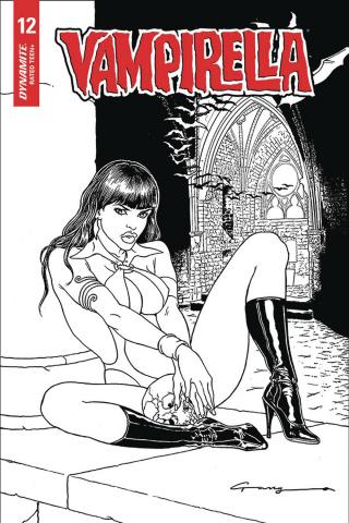 Vampirella #12 (40 Copy Canga B&W Cover)