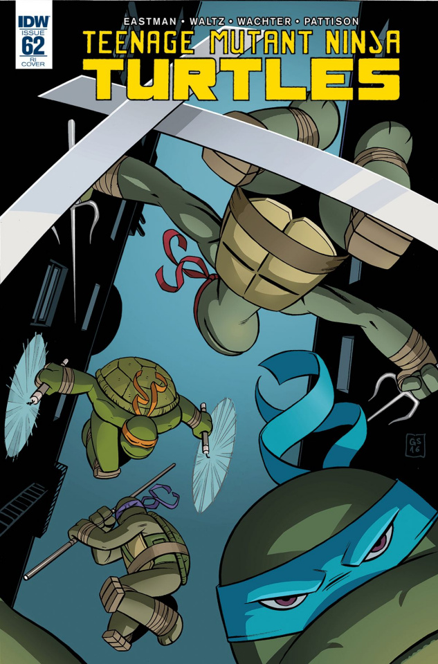Teenage Mutant Ninja Turtles #62 (10 Copy Cover)