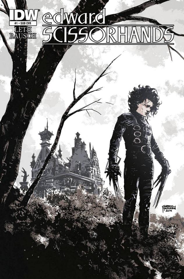 Edward Scissorhands #1 (Subscription Cover)