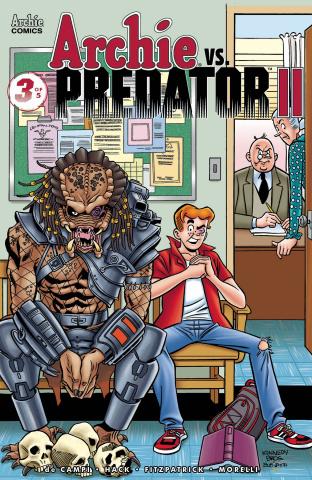 Archie vs. Predator II #3 (Kennedy Cover)