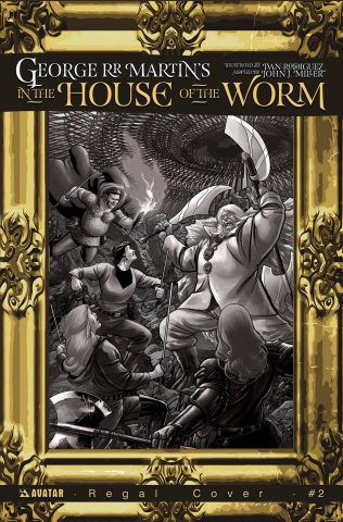 In the House of the Worm #2 (Regal Cover)