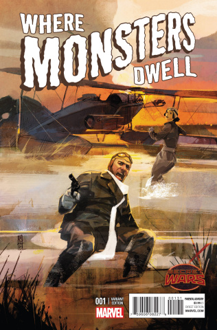 Where Monsters Dwell #1 (Maleev Cover)