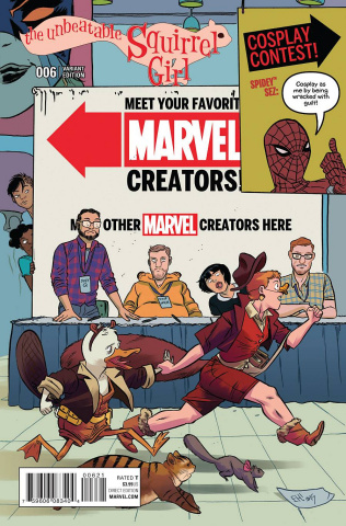 The Unbeatable Squirrel Girl #6 (Henderson Cover)