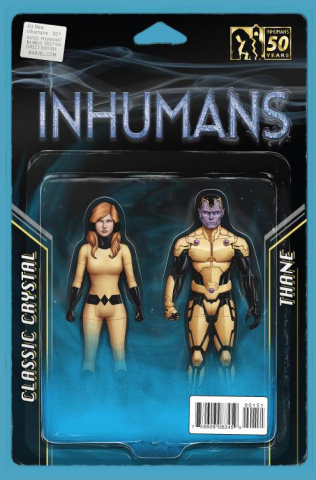 All-New Inhumans #1 (Action Figure Two Pack Cover)