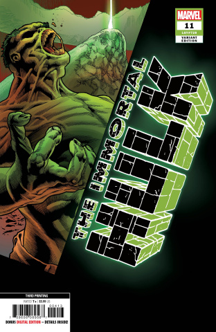 The Immortal Hulk #11 (Bennett 3rd Printing)