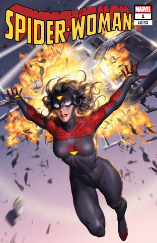 Spider-Woman #1 (Yoon New Costume Cover)
