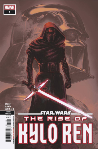 Star Wars: The Rise of Kylo Ren #1 (Crain 4th Printing)