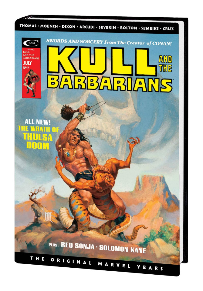 Kull: The Original Marvel Years (Omnibus Whelan Cover)