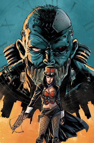 Grimm Fairy Tales: Van Helsing vs. Frankenstein #5 (Preitano Cover)