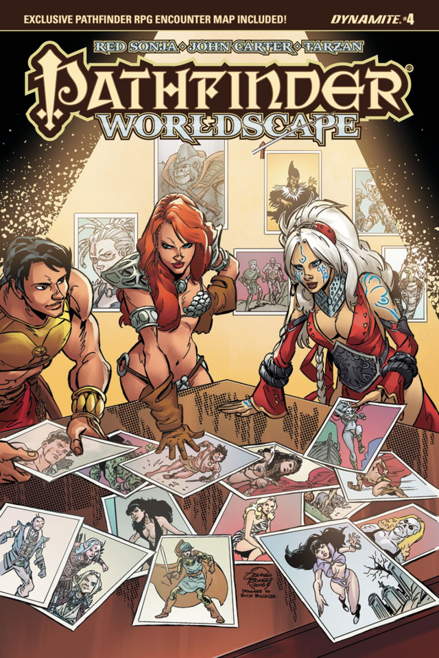 Pathfinder: Worldscape #4 (Subscription Cover)