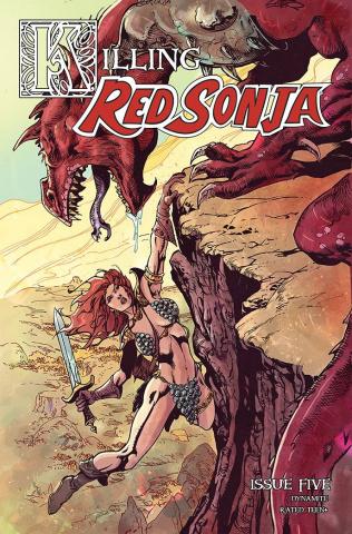 Killing Red Sonja #5 (Castro Bonus Cover)