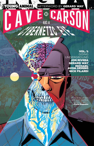 Cave Carson Has a Cybernetic Eye Vol. 1: Going Underground