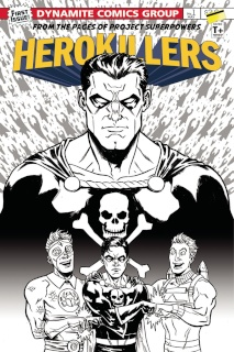 Project Superpowers: Hero Killers #1 (10 Copy Cover)