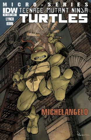 Teenage Mutant Ninja Turtles #2: Michelangelo