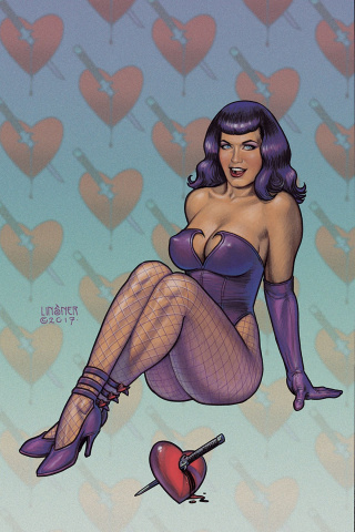 Bettie Page #7 (20 Copy Linsner Virgin Cover)