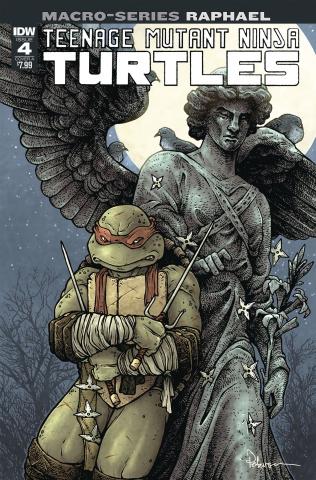 Teenage Mutant Ninja Turtles Macro-Series #4: Raphael (Petersen Cover)