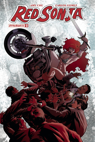 Red Sonja #3 (McKone Cover)