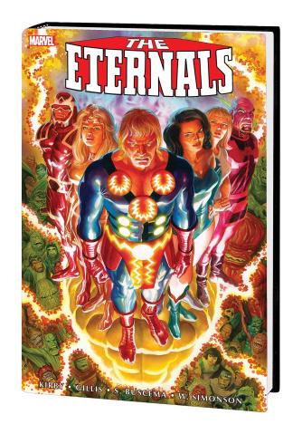 The Eternals Complete Saga (Omnibus Ross Cover)