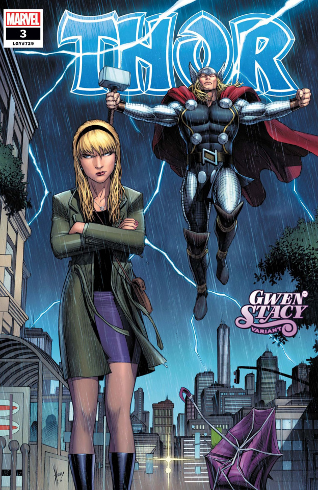 Thor #3 (Keown Gwen Stacy Cover)