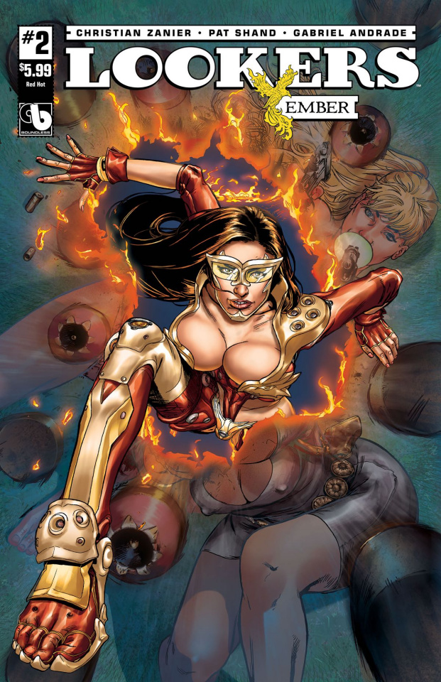Lookers: Ember #2 (Red Hot Cover)