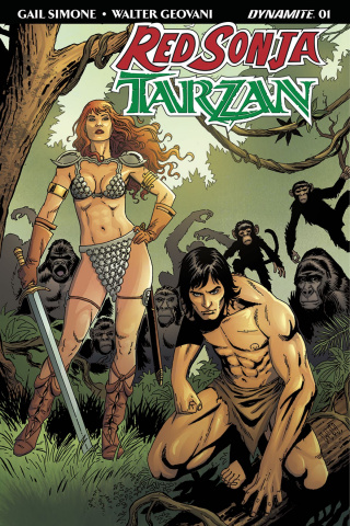 Red Sonja / Tarzan #1 (Geovani Cover)