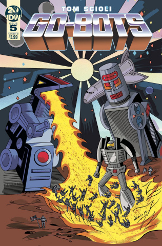 Go-Bots #5 (Shaw Cover)