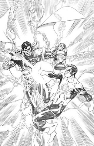Hal Jordan and The Green Lantern Corps #30 (Variant Cover)