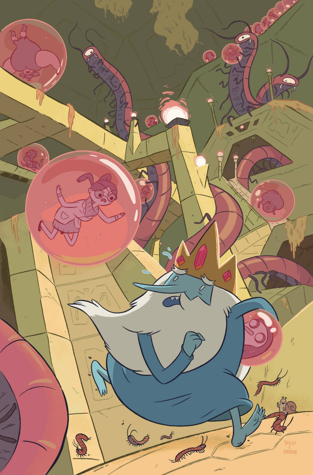 Adventure Time: The Ice King #5