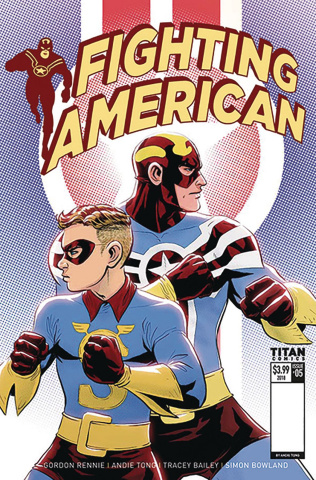 Fighting American: The Ties That Bind #1 (Tong Cover)