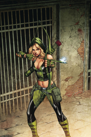 Robyn Hood: The Hunt #6 (Bifulco Cover)