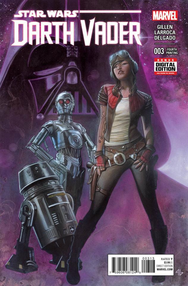 Darth Vader #3 (Granov 4th Printing)