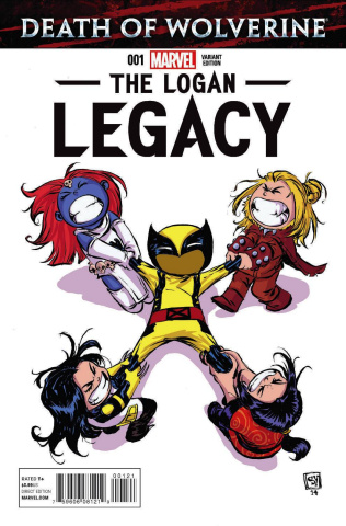 Death of Wolverine: The Logan Legacy #1 (Young Cover)