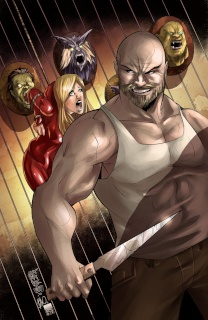 Grimm Fairy Tales: Red Riding Hood 10th Anniversary Special #2 (Cafaro Cover)