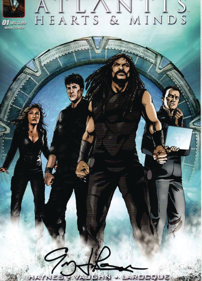 Stargate Atlantis: Hearts & Minds #1 (Larocque Signed Cover)