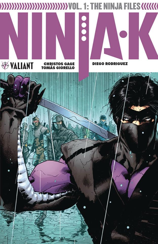 Ninja-K Vol. 1: The Ninja Files