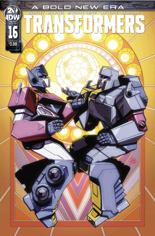 The Transformers #16 (Howell Cover)