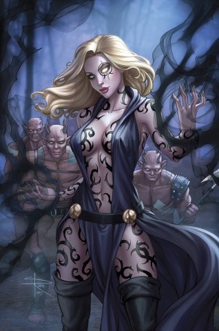 Grimm Fairy Tales: Robyn Hood #18 (Rich Cover)