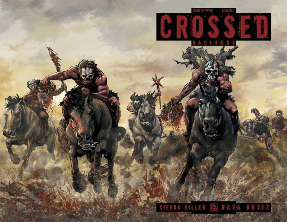 Crossed: Badlands #76 (Wrap Cover)