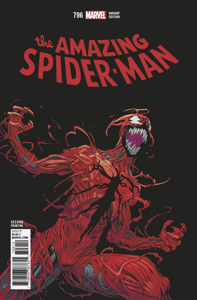 The Amazing Spider-Man #796 (2nd Printing)
