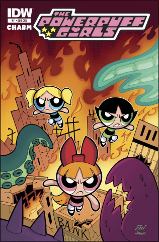The Powerpuff Girls #7 (Subscription Cover)