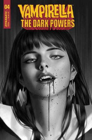 Vampirella: The Dark Powers #4 (30 Copy Yoon B&W Cover)