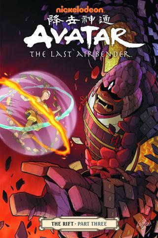 Avatar: The Last Airbender Vol. 9: The Rift, Part 3