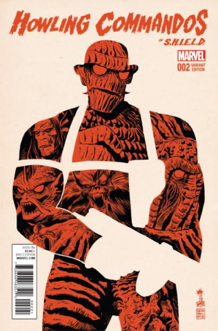 The Howling Commandos of S.H.I.E.L.D. #2 (Francavilla Cover)