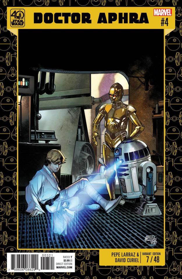 Star Wars: Doctor Aphra #4 (Star Wars 40th Anniversary Cover)