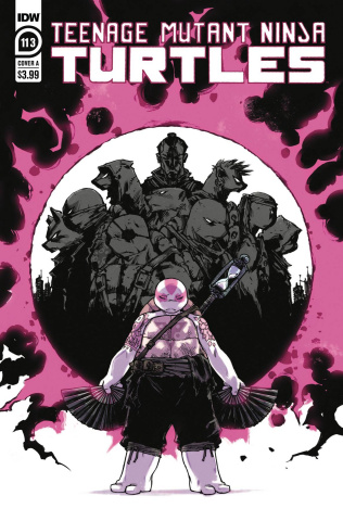 Teenage Mutant Ninja Turtles #113 (Sophie Campbell Cover)