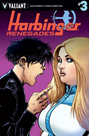 Harbinger: Renegade #3 (Robertson Cover)
