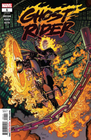 02//10//2019 GHOST RIDER #1 KING OF HELL KUDER VARIANT